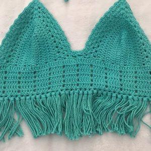 Tops - Festival Crochet Top ✨FINAL SALE✨